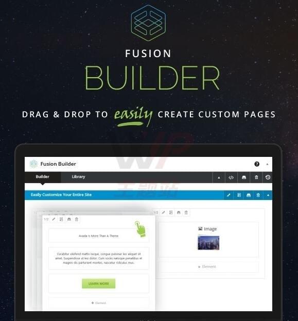 Avada页面编辑器Fusion Builder