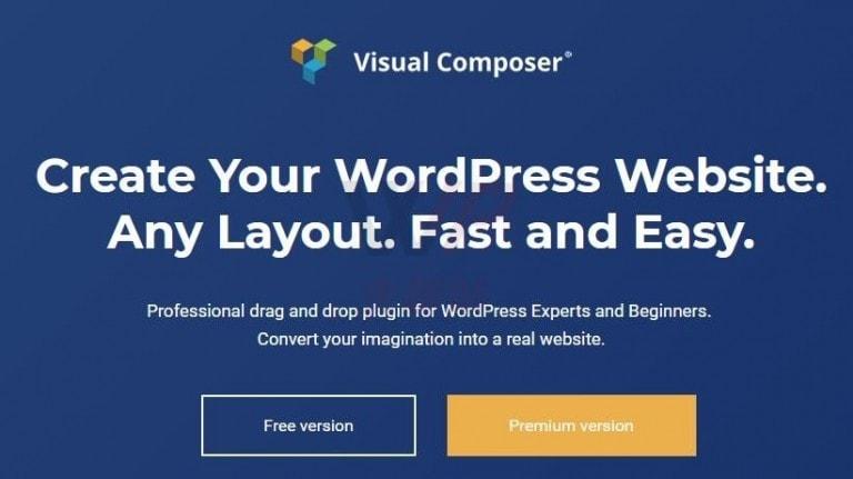 WordPress可视化编辑器Visual Composer