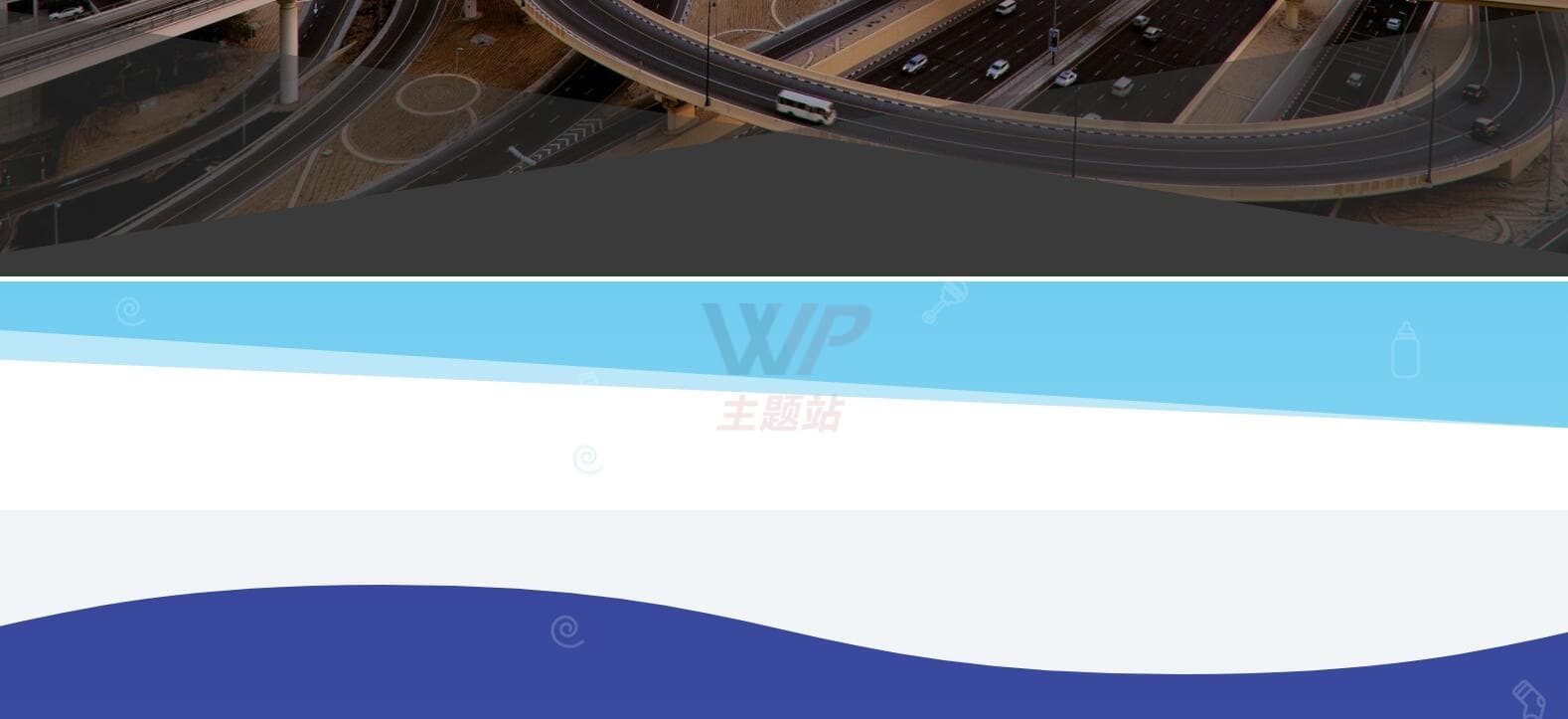 divi网页分割效果
