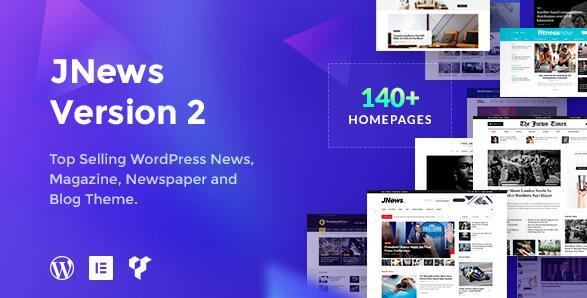 Jnews主题 非常强大的多功能文章主题