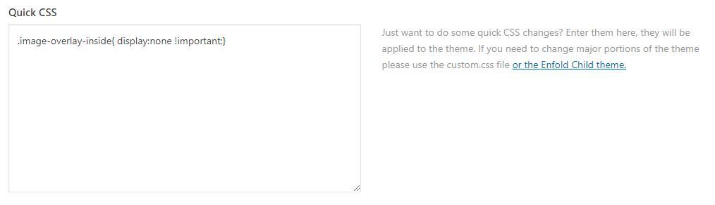 enfold添加CSS代码