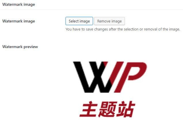 image watermark 添加水印图片