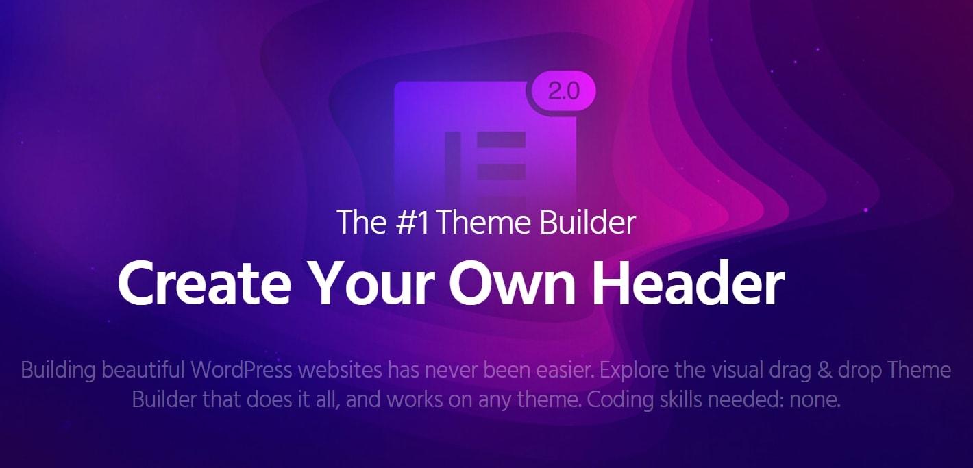 使用Elementor主题编辑器修改自带主题教程(Theme Builder)