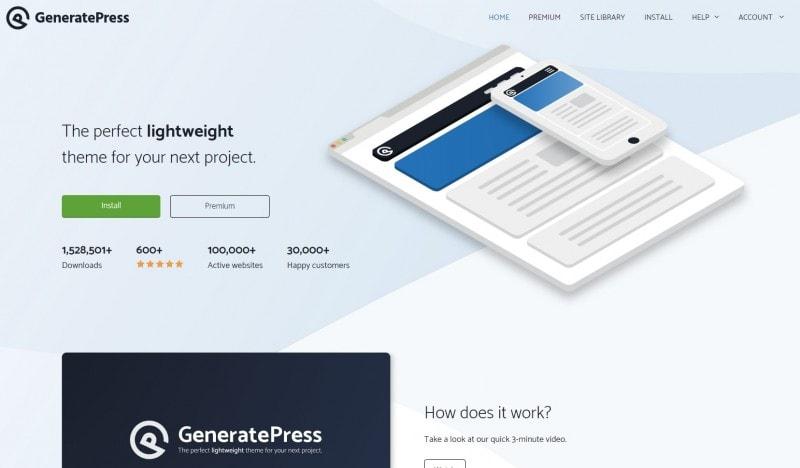 GeneratePress主题