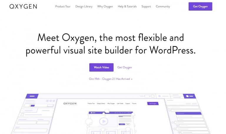 Oxygen一款用来制作WordPress主题的编辑器