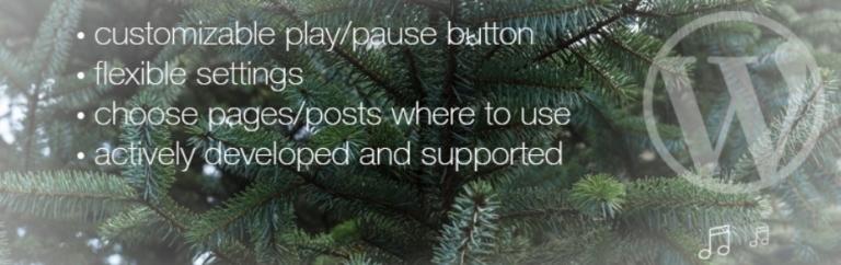 Christmas Music 为你的WordPress站点添加圣诞音乐