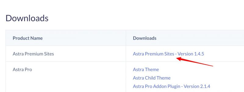 astra pro 模板下载