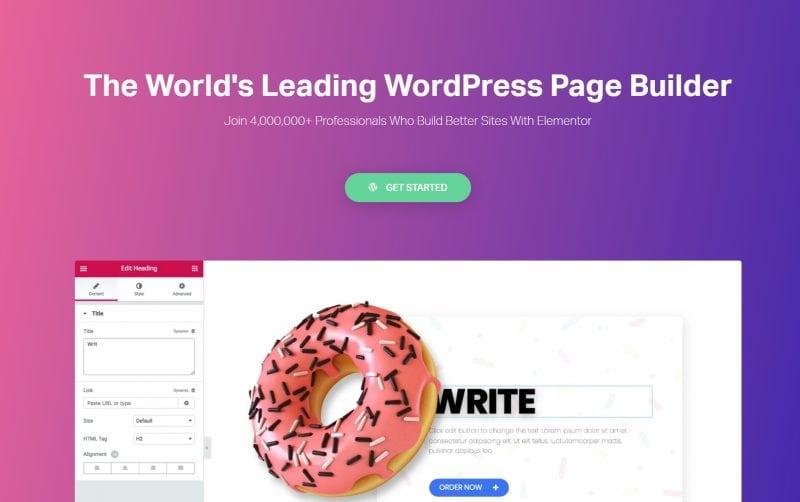 WordPress可视化编辑器Elementor